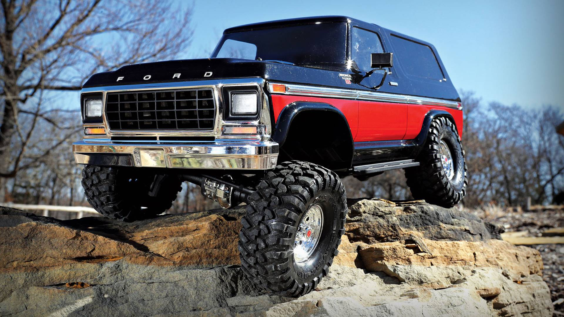 Traxxas launches retro r c 1979 ford bronco rock crawler
