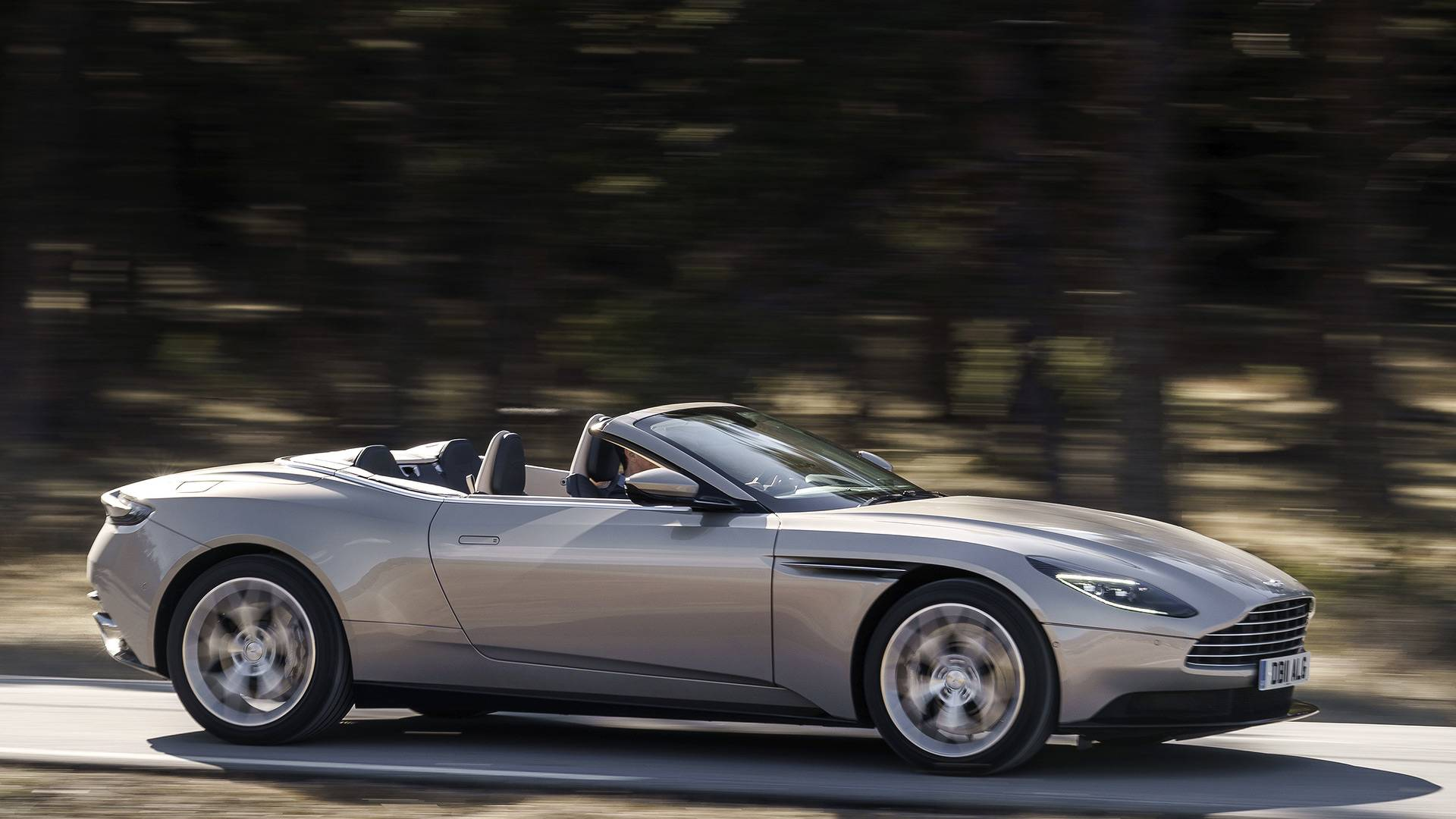 2018 Aston Martin Db11 Volante First Drive Two Faced Gentrified