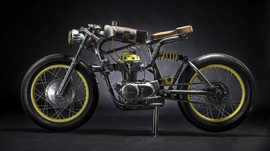 """Bike of the Week: Titan's """"The One"""" CB350 Cafe Build"""