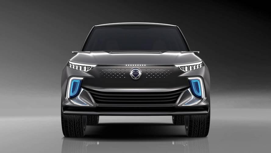 SsangYong e-SIV EV concept