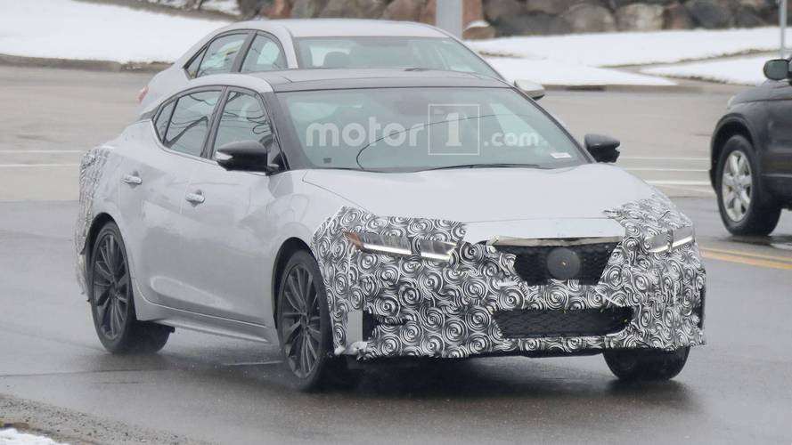 2019 Nissan Maxima Spy Photos