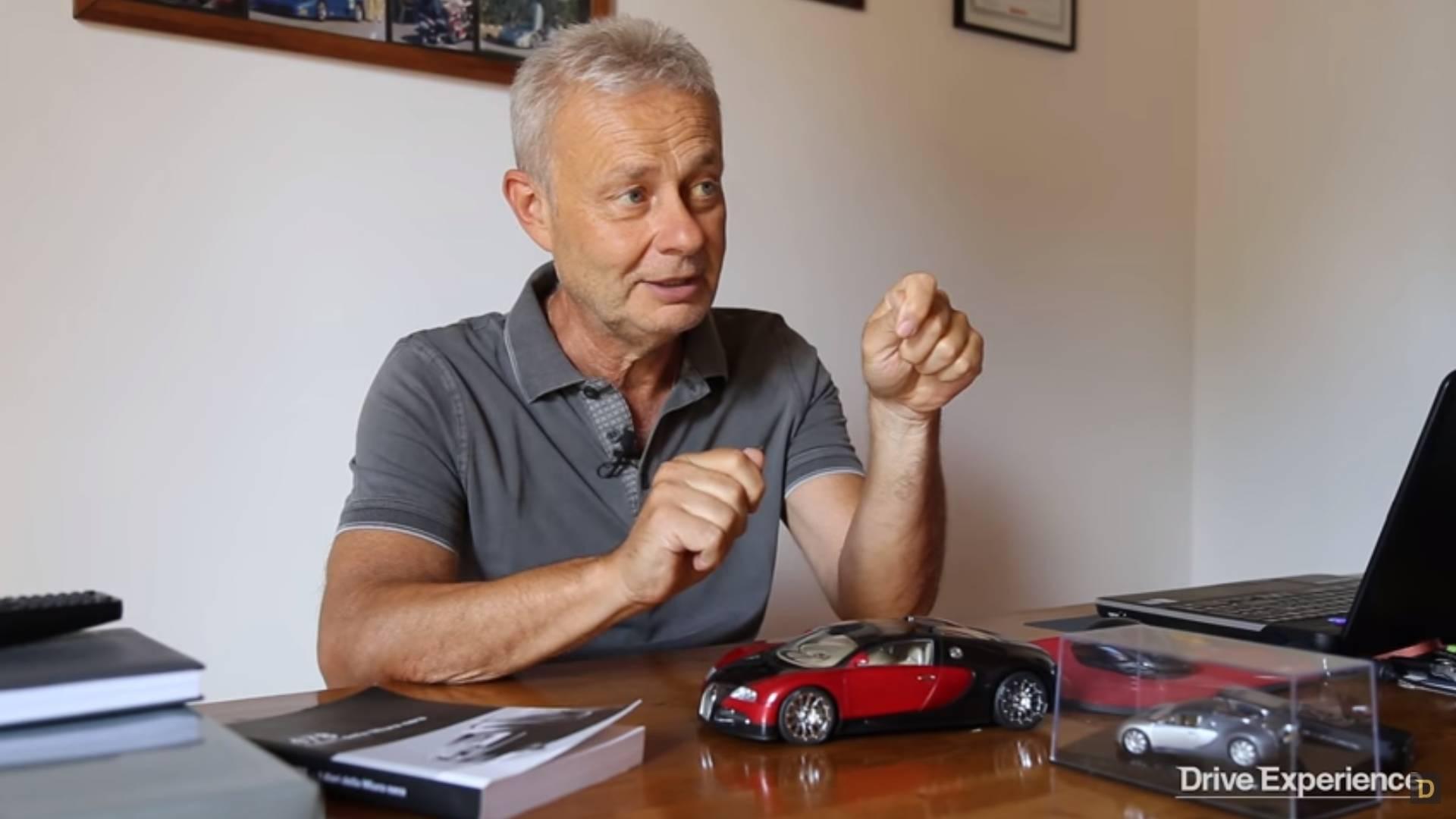 Bugatti Test Driver Tells His Story About Veyron Crash At 248 Mph