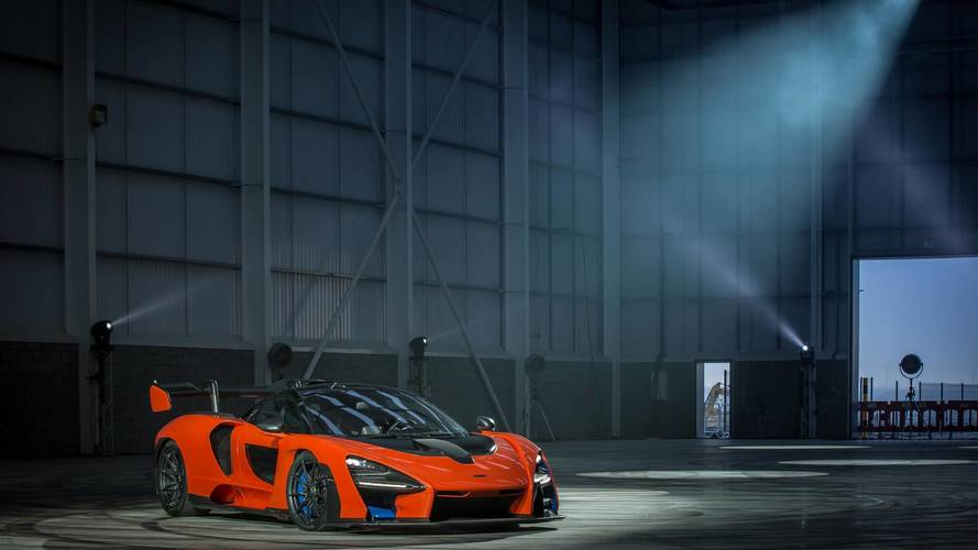 McLaren Senna at the MCTC