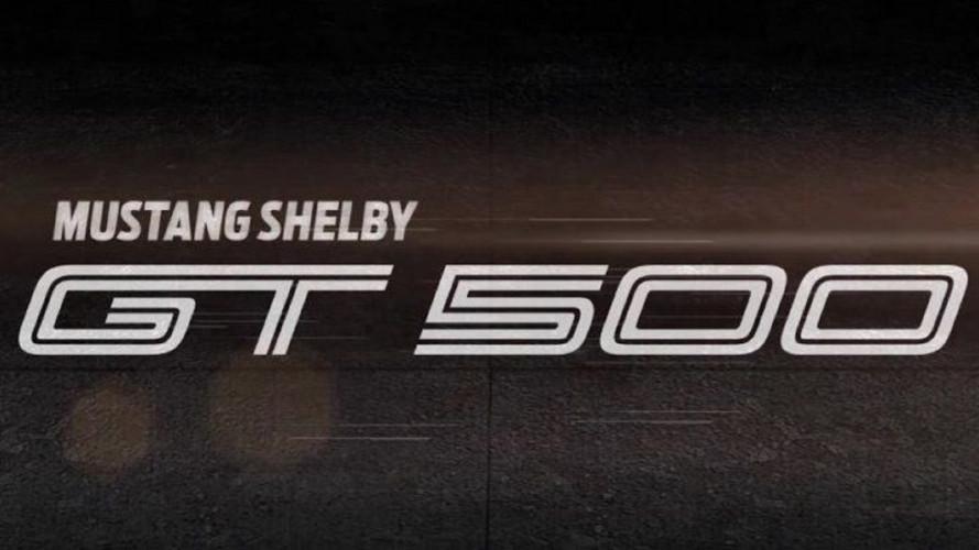 Ford Shelby Mustang GT500, il teaser della versione da 700 CV