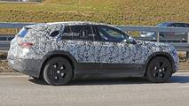 2019 Mercedes EQ C spy photo