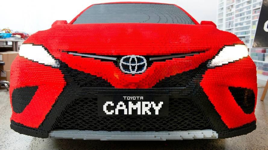 Toyota Camry, de Lego