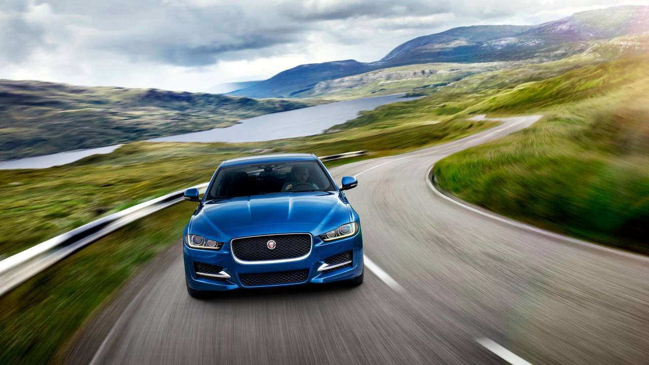 10. Premium Luxury Midsize Sedan: Jaguar XE 20d.