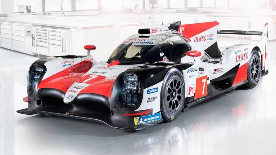 Toyota dévoile son proto LMP1 2018