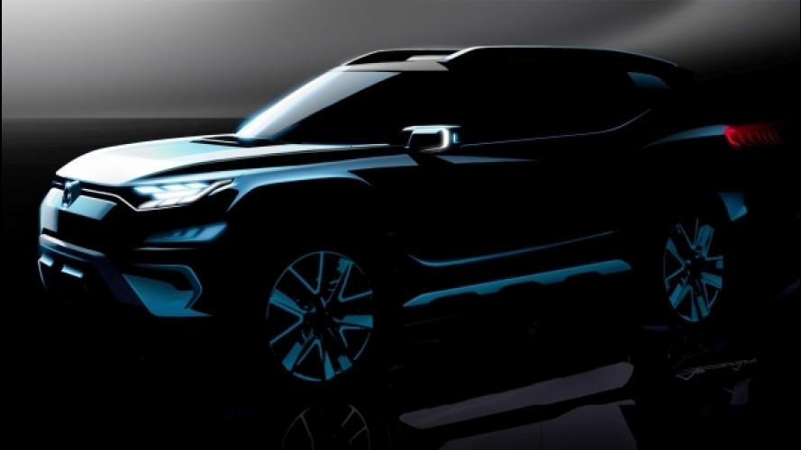 Ssangyong XAVL concept, il nuovo SUV a sette posti