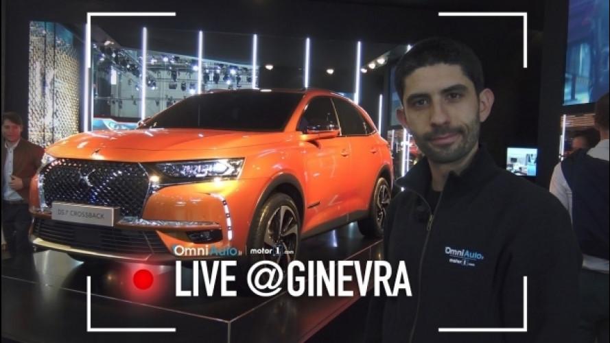 """Salone di Ginevra, DS 7 Crossback di """"tutti"""" di più [VIDEO]"""