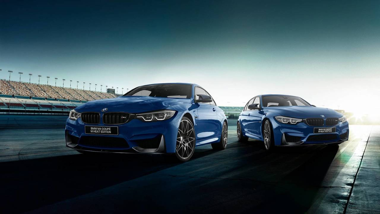 BMW M3 and M4 Heat Edition