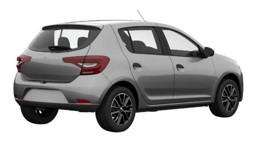 Segredo – Renault Sandero e Logan mostram nova traseira em registro