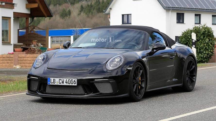 Porsche 911 Speedster casus kameralara yakalandı