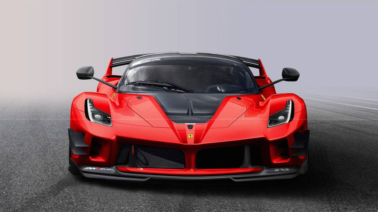 What If Ferrari Built A Street Legal Fxx K Evo