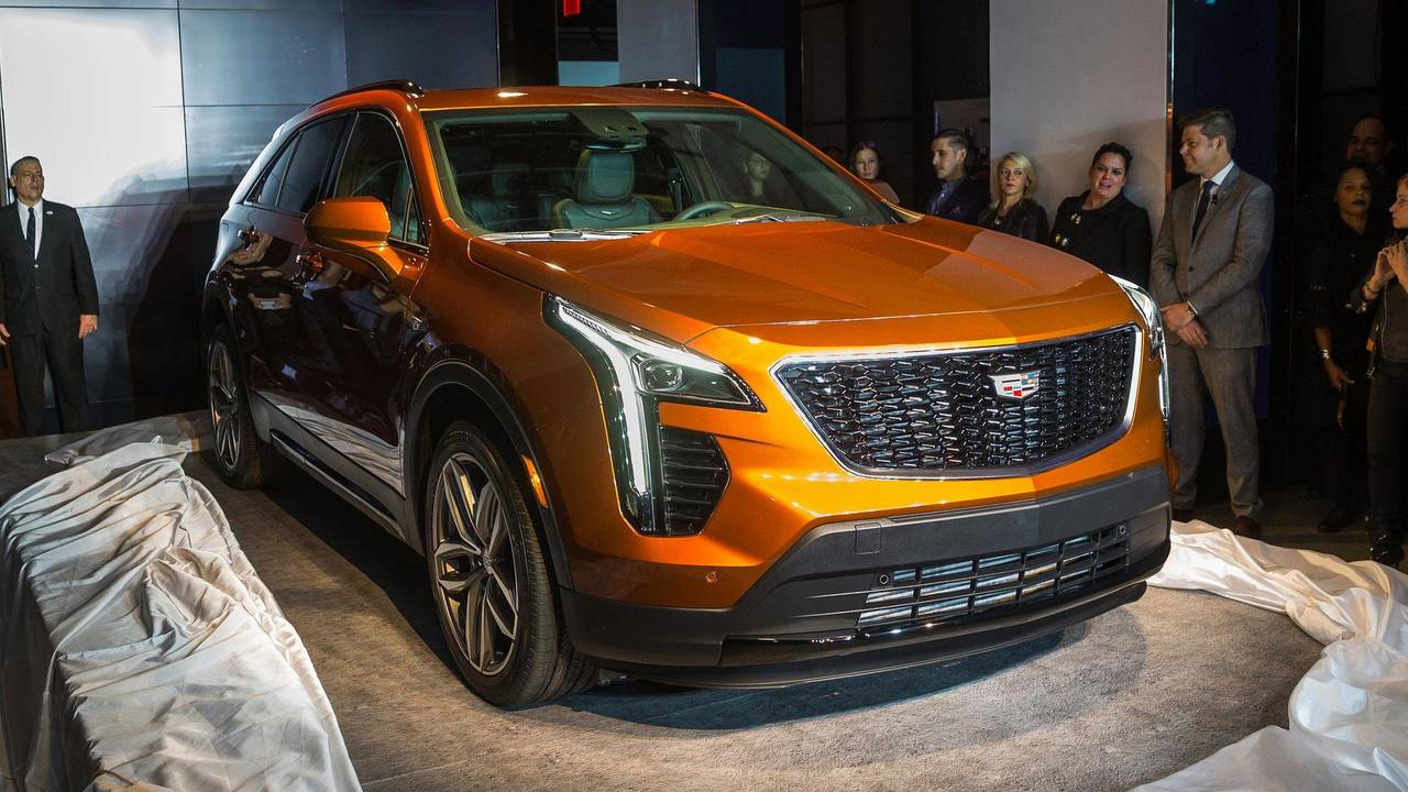 2019 Cadillac XT4: New York