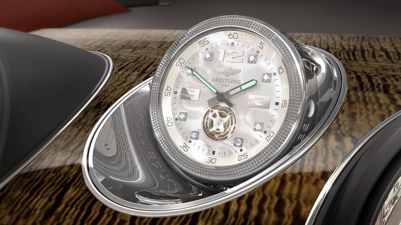 Montre Breitling dans le Bentley Bentayga