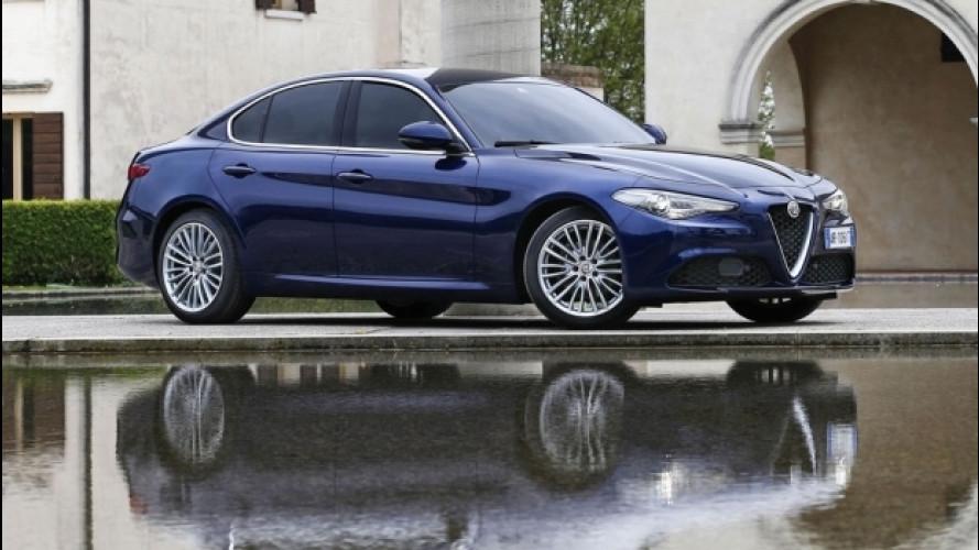 """Alfa Romeo Giulia è """"la più bella dell'anno"""", lo dicono i tedeschi"""