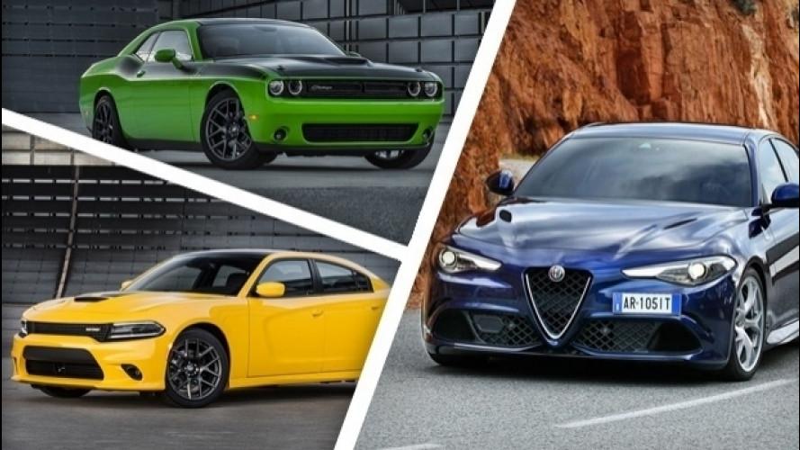 Alfa Romeo Giulia, da lei rinascono le Dodge