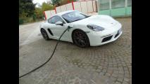 Porsche 718 Cayman, test di consumo reale Roma-Forlì 033
