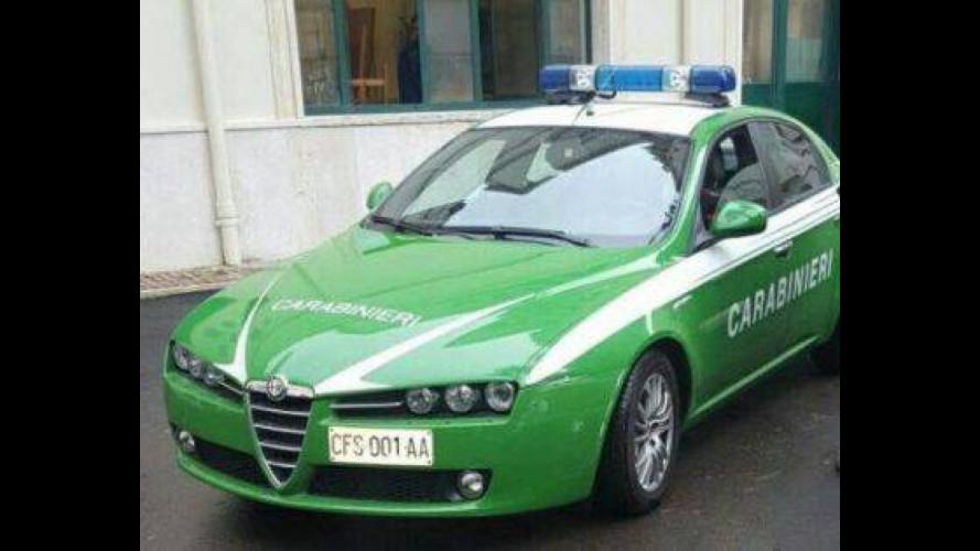Forestali ai Carabinieri, come cambiano le auto
