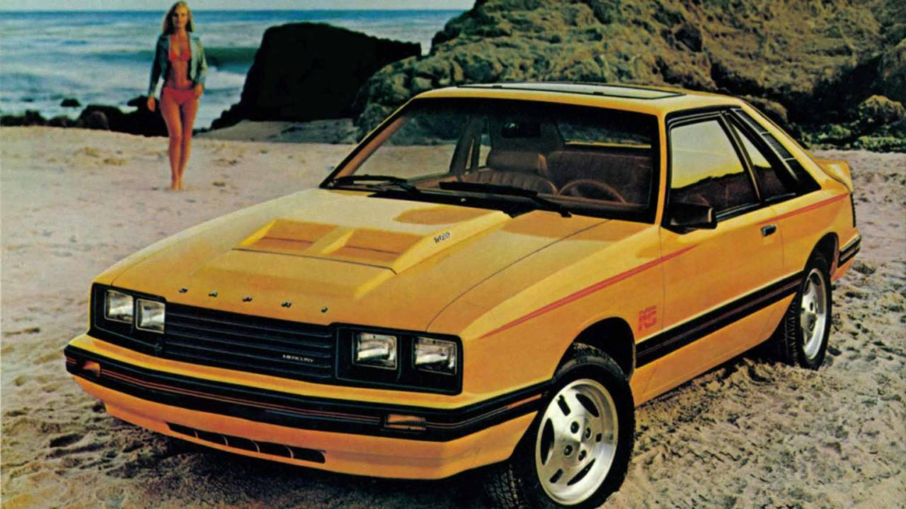 1981 Mercury Capri RS Turbo