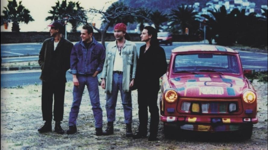 Trabant, un raduno a Cleveland per quelle utilizzate dagli U2
