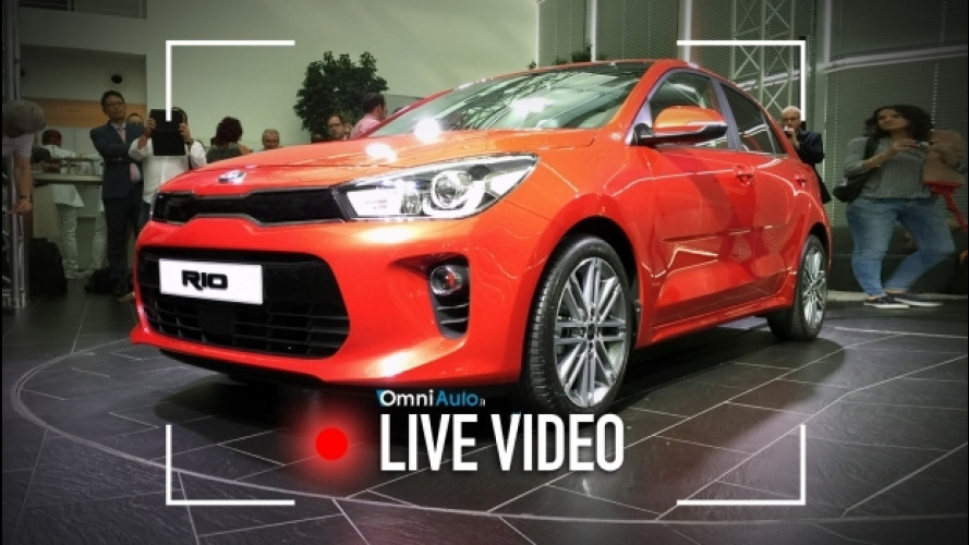 Nuova Kia Rio, com'è vista dal vivo [VIDEO]