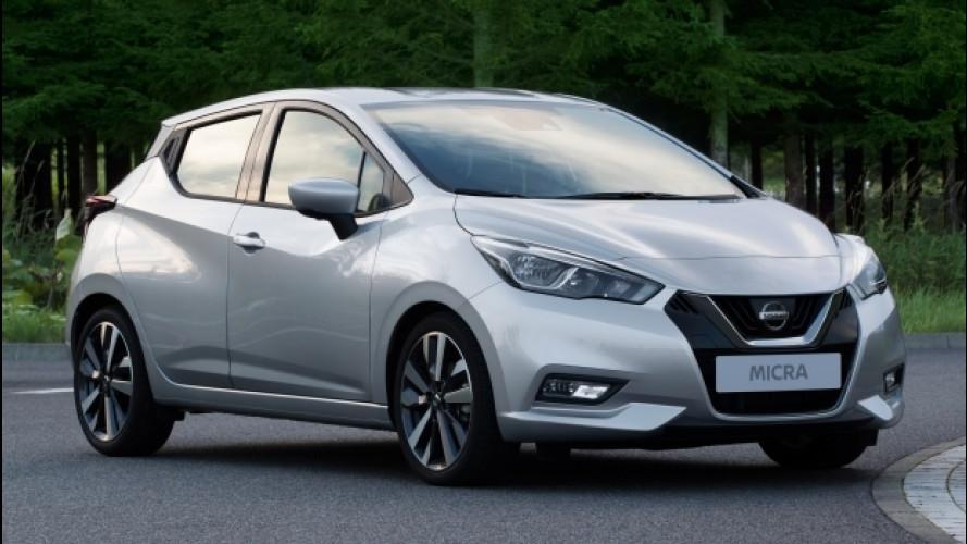 Nuova Nissan Micra, sa essere sportiva