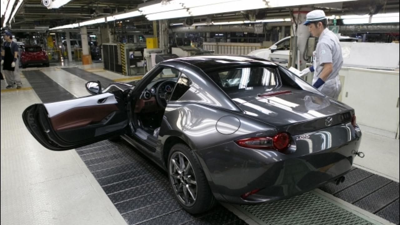 [Copertina] - Mazda MX-5 RF, è iniziata la produzione