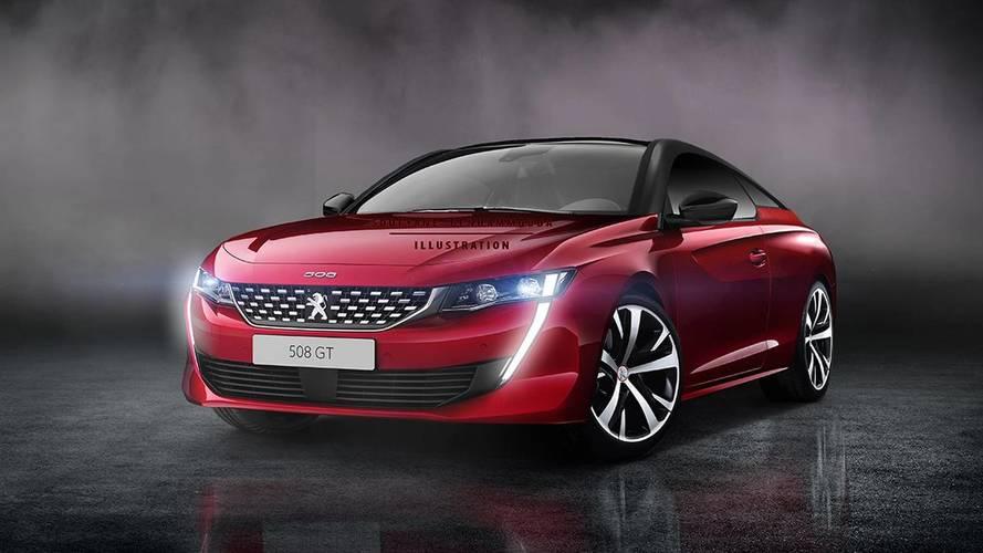 Yeni Peugeot 508'e coupe versiyonu