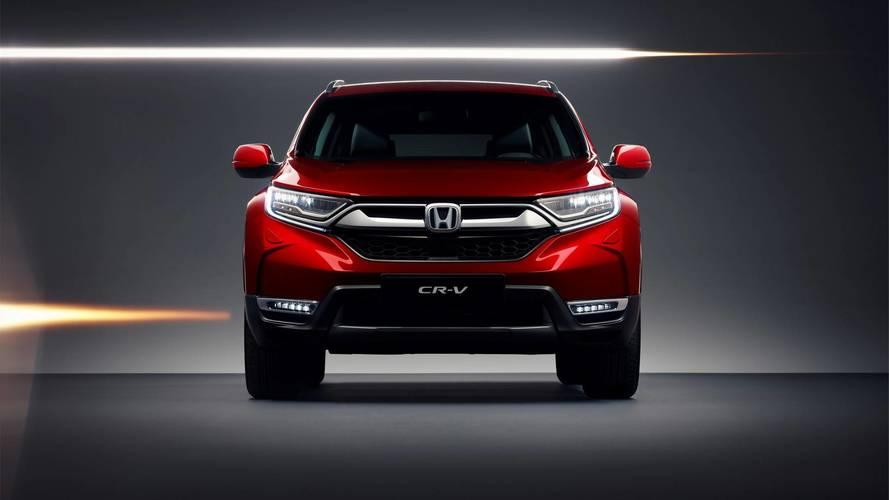 2018 Honda CR-V (Euro-spec)