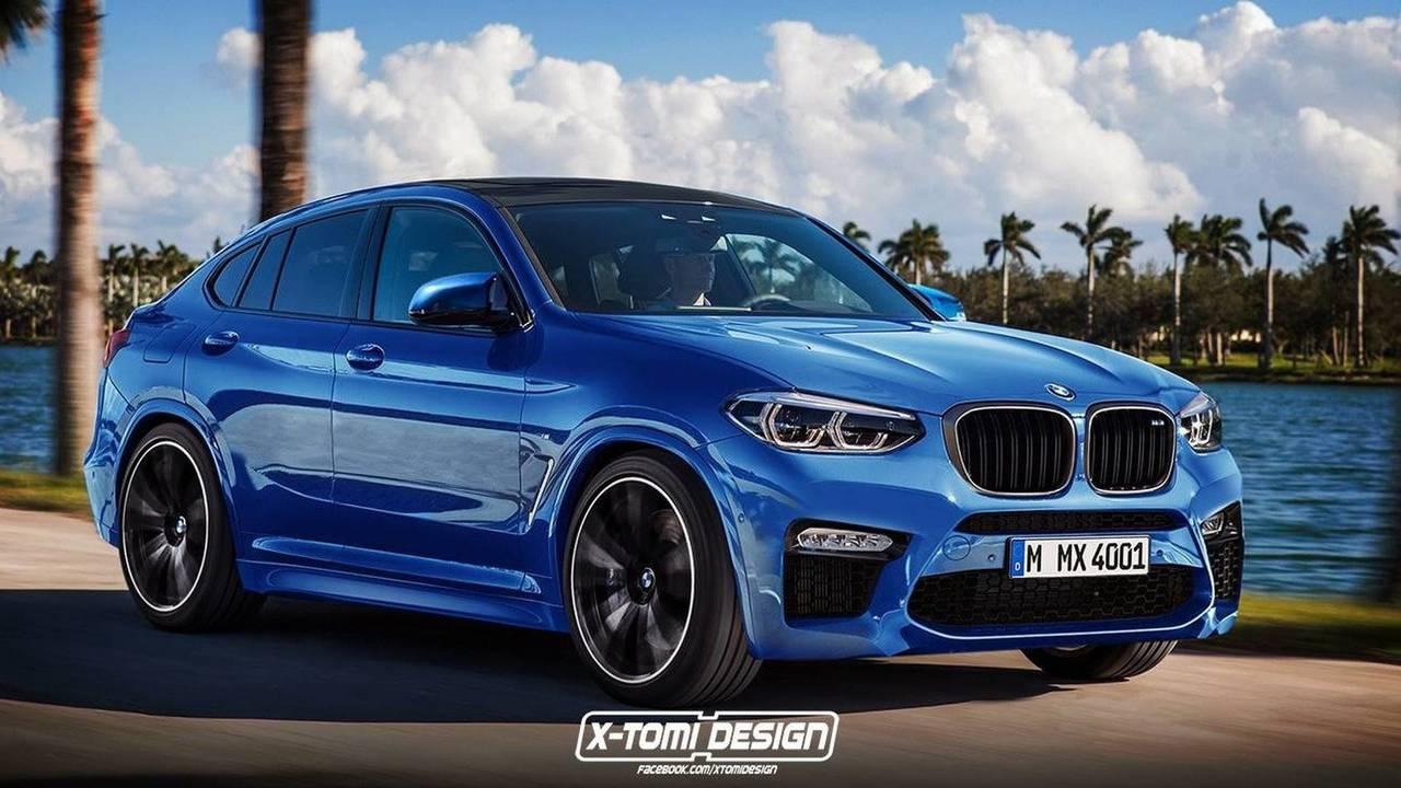 BMW X4 M Rendering