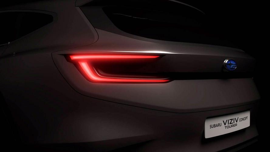 Subaru Viziv Tourer Concept, il teaser per Ginevra