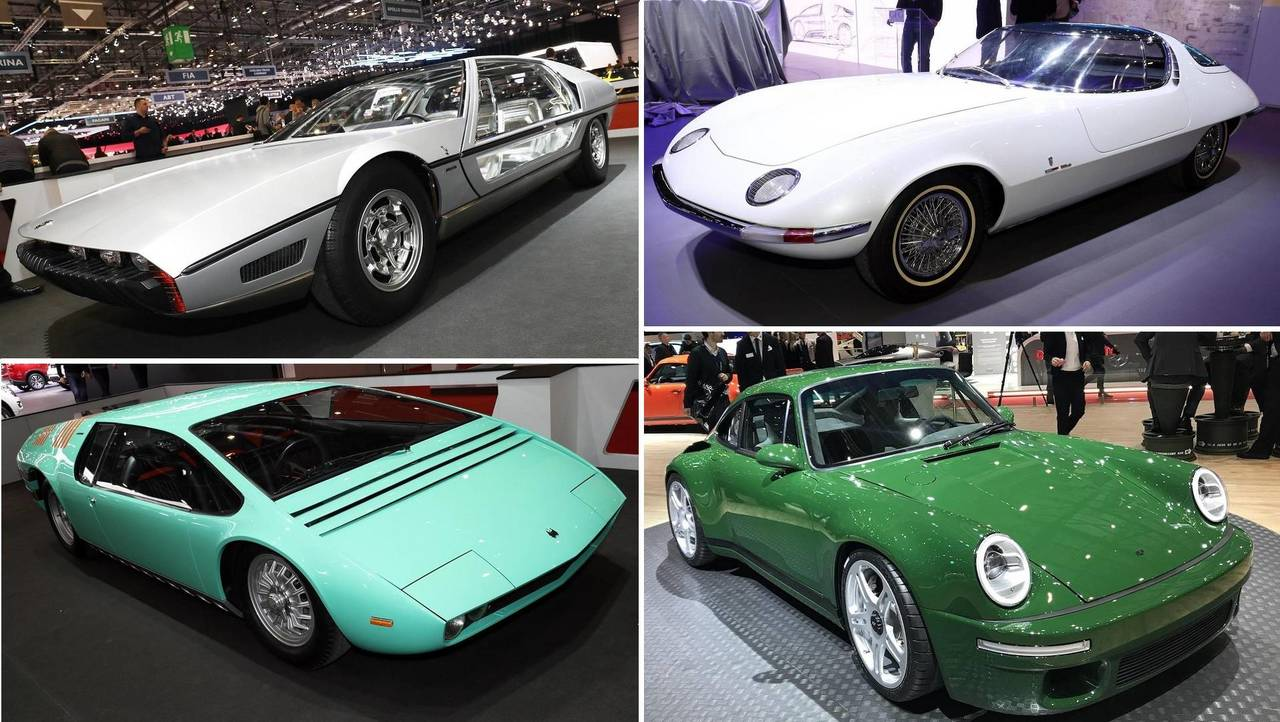 Top Classic Cars At Geneva Motor Show - Classic show cars