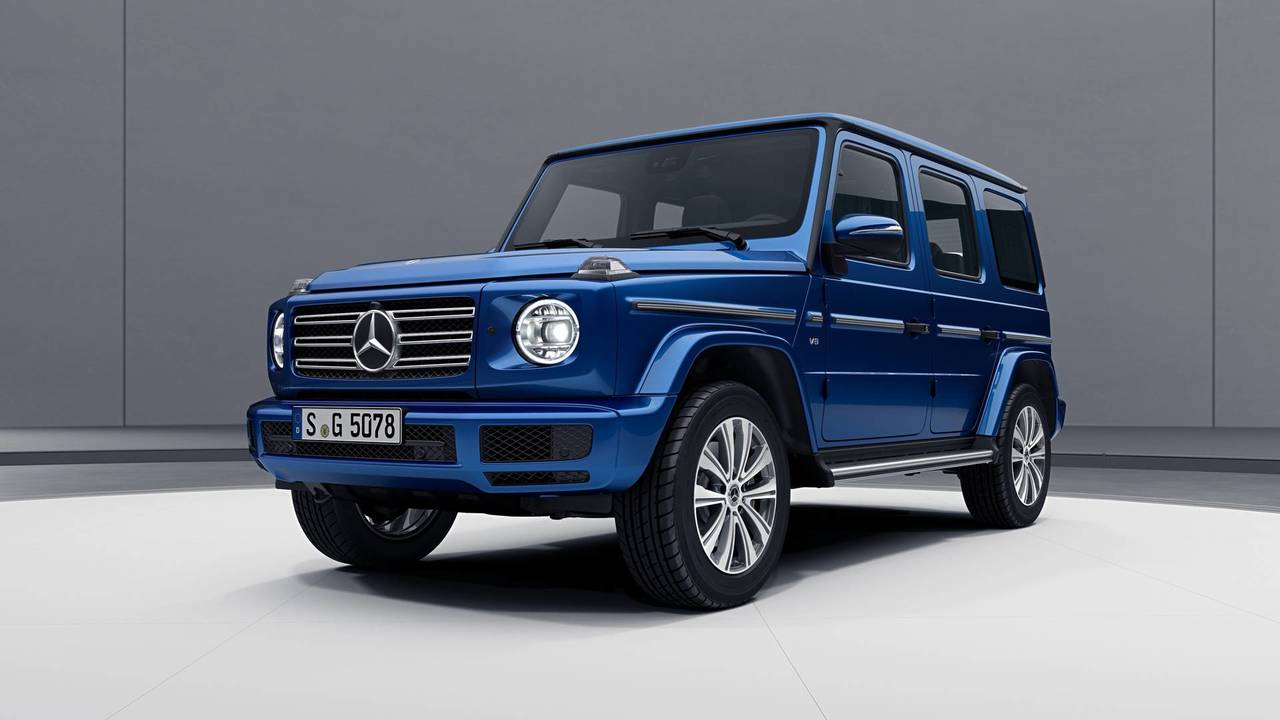 Mercedes Clase G, con el paquete Stainless Steel