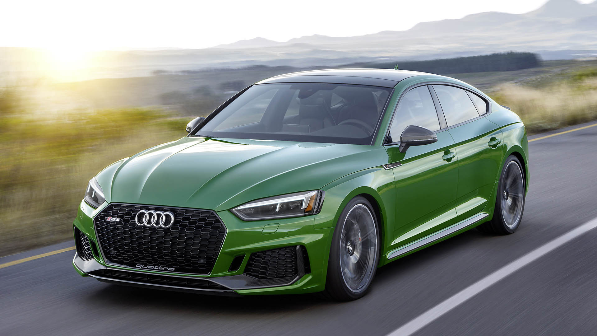 Audi RS 5 - Power Five-Door With 450 hp