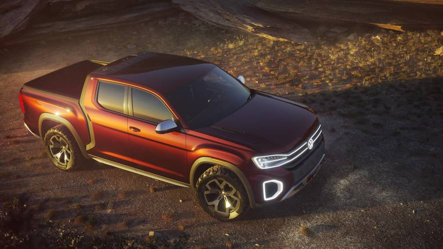 "VW Tanoak Pickup Truck ""Carefully"" Being Considered For The U.S."