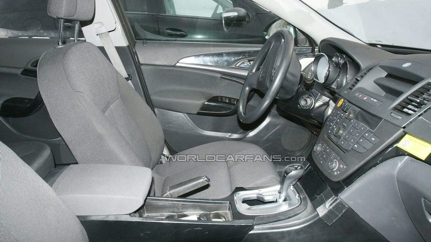 Vauxhall Insignia Best Interior Spy Photos Yet