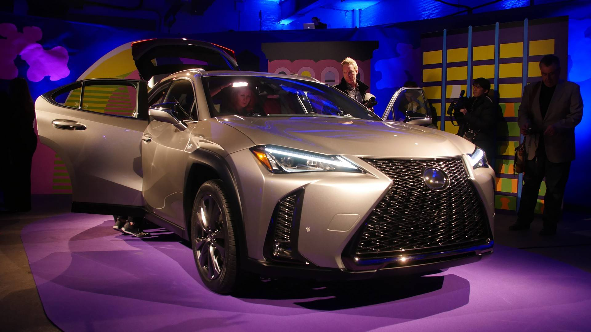 Lexus UX Celebrates US Debut At New York Auto Show - Lexus car show