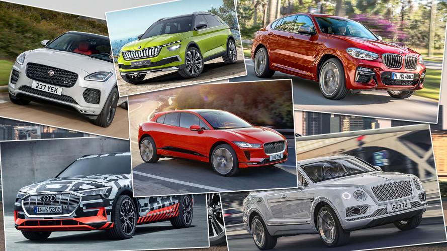 Die SUV-Neuheiten 2018