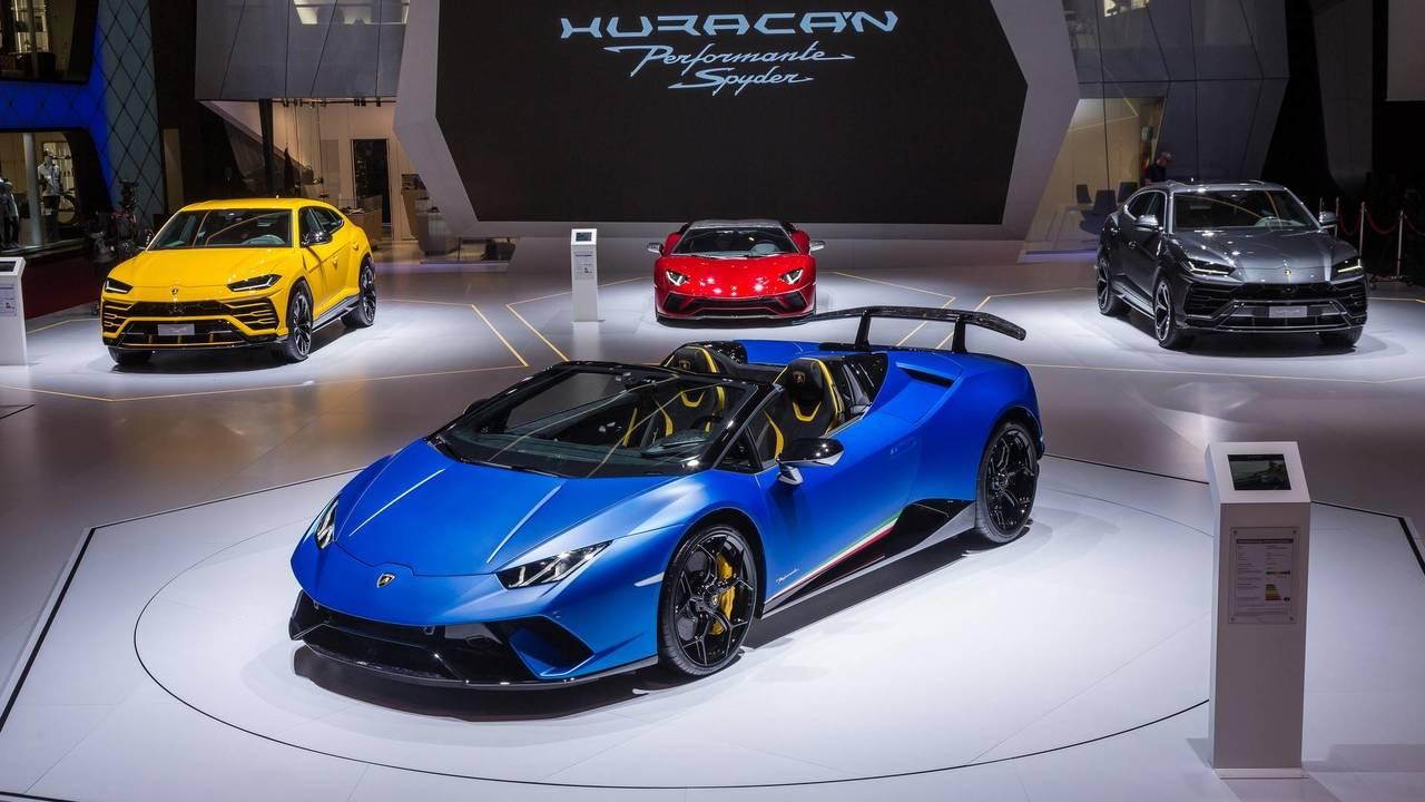 9 (Tie). 2018 Lamborghini Huracan Performante Spyder