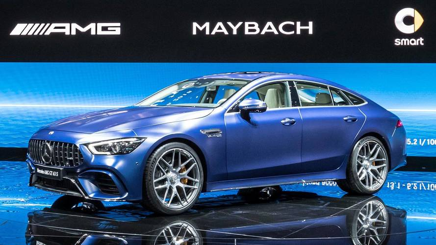 2019 Mercedes-AMG GT 4-Door Coupe Storms Geneva With 630 HP
