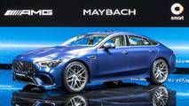2019 Mercedes-AMG GT 4-Door Coupe: Geneva 2018