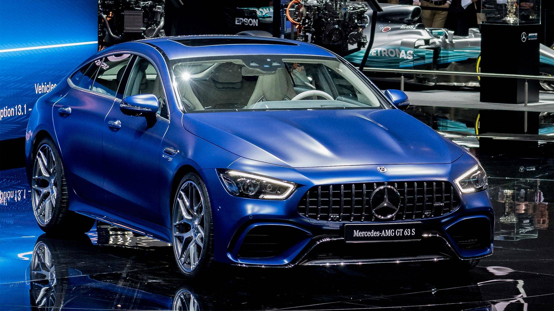2019 Mercedes-AMG GT 4-Door Coupe Starts At $136,500