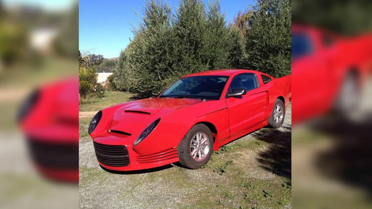 Custom 2007 Ford Mustang