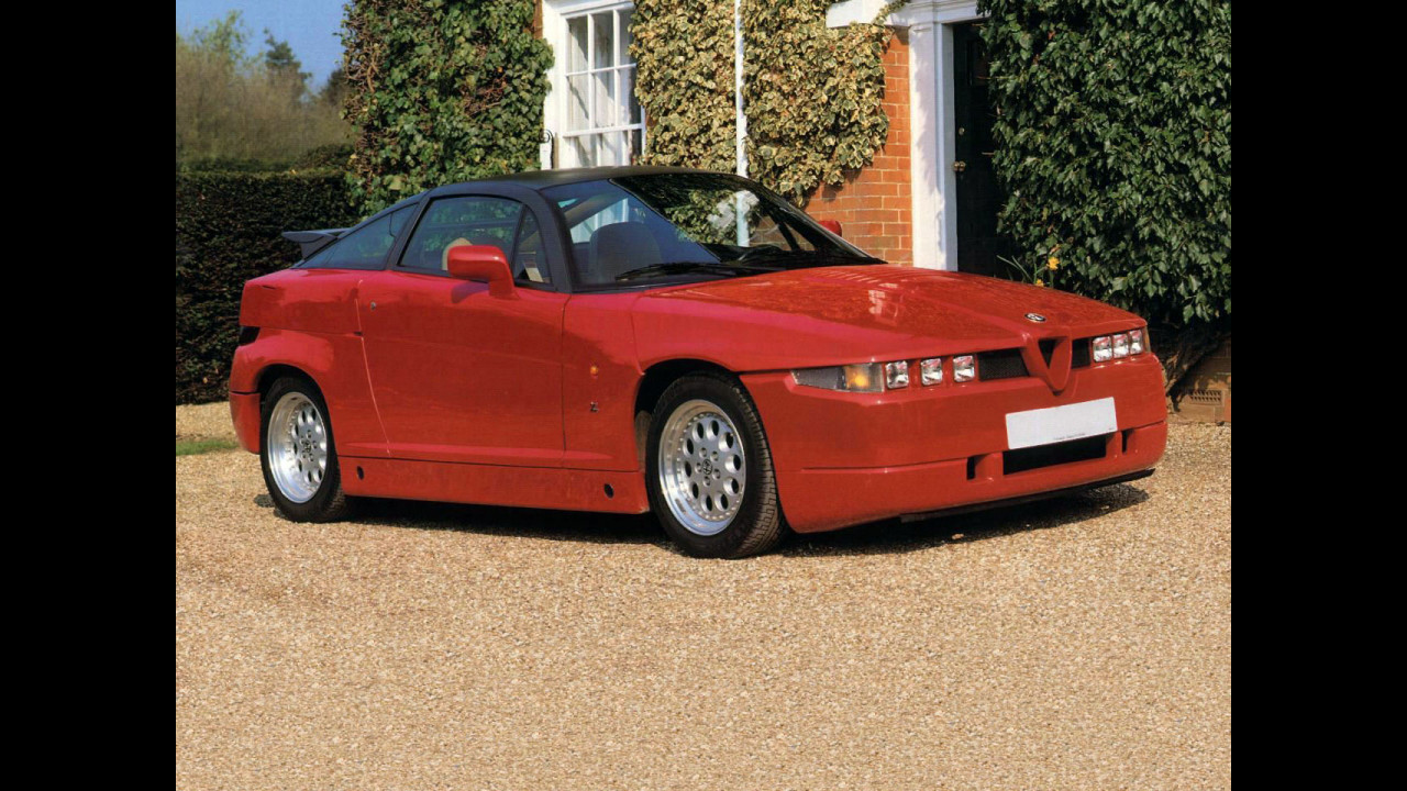 Alfa Romeo SZ e RZ, le foto storiche