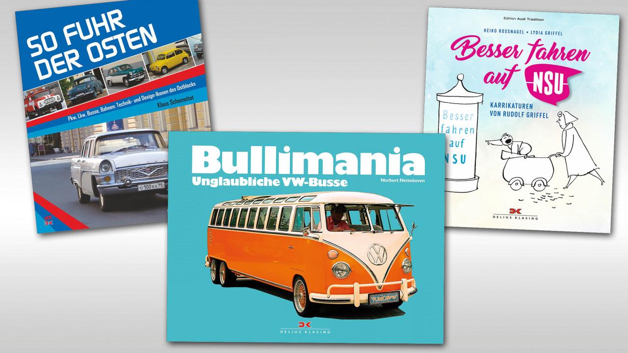 Neue Bücher für Auto-Fans