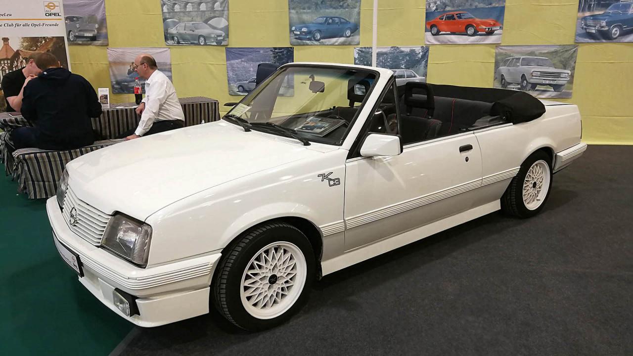 Techno Classica 2018: Opel Ascona von Keinath