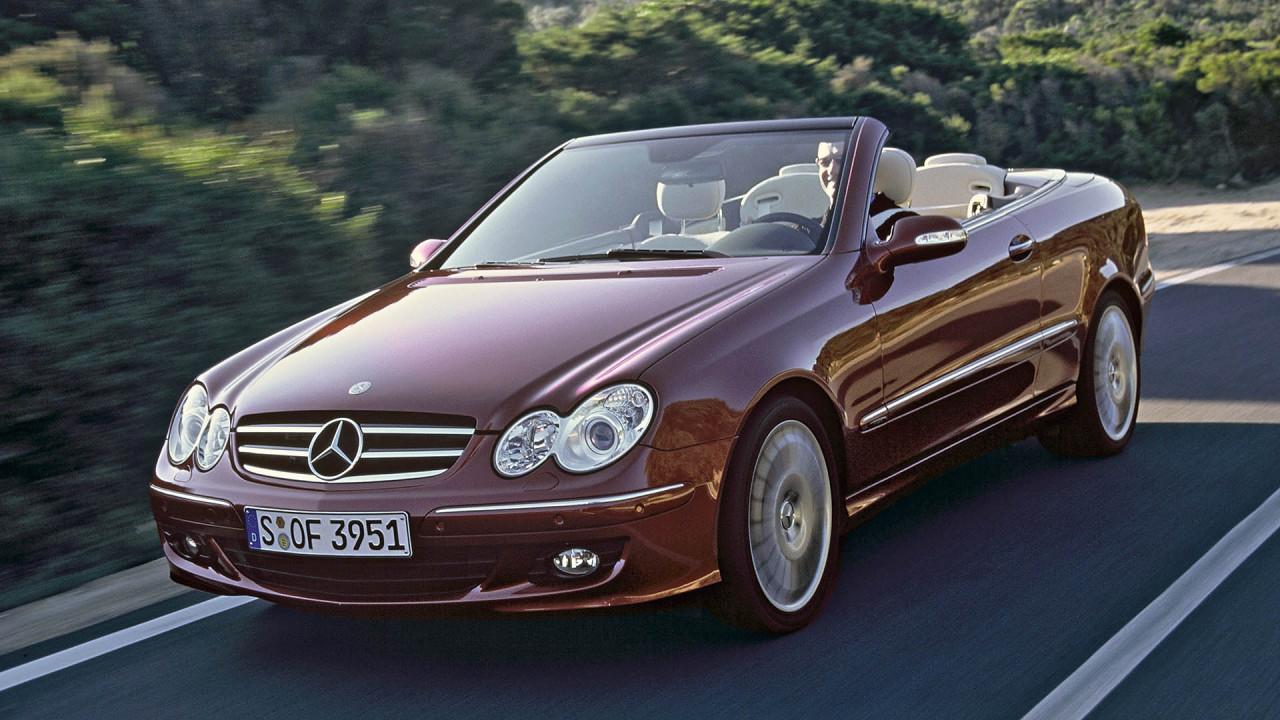 Mercedes CLK Cabriolet (Baureihe 209, 2002 bis 2010)