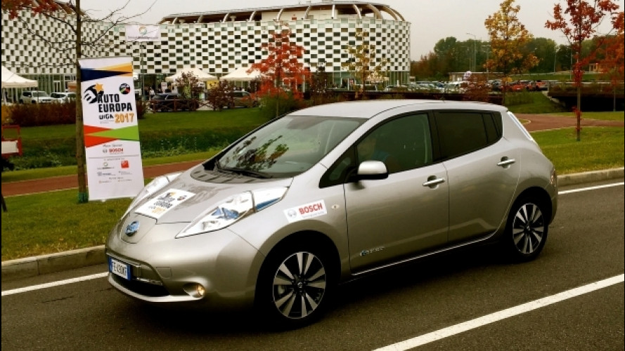 Nissan Leaf, suo il premio Green Gold Award 2017